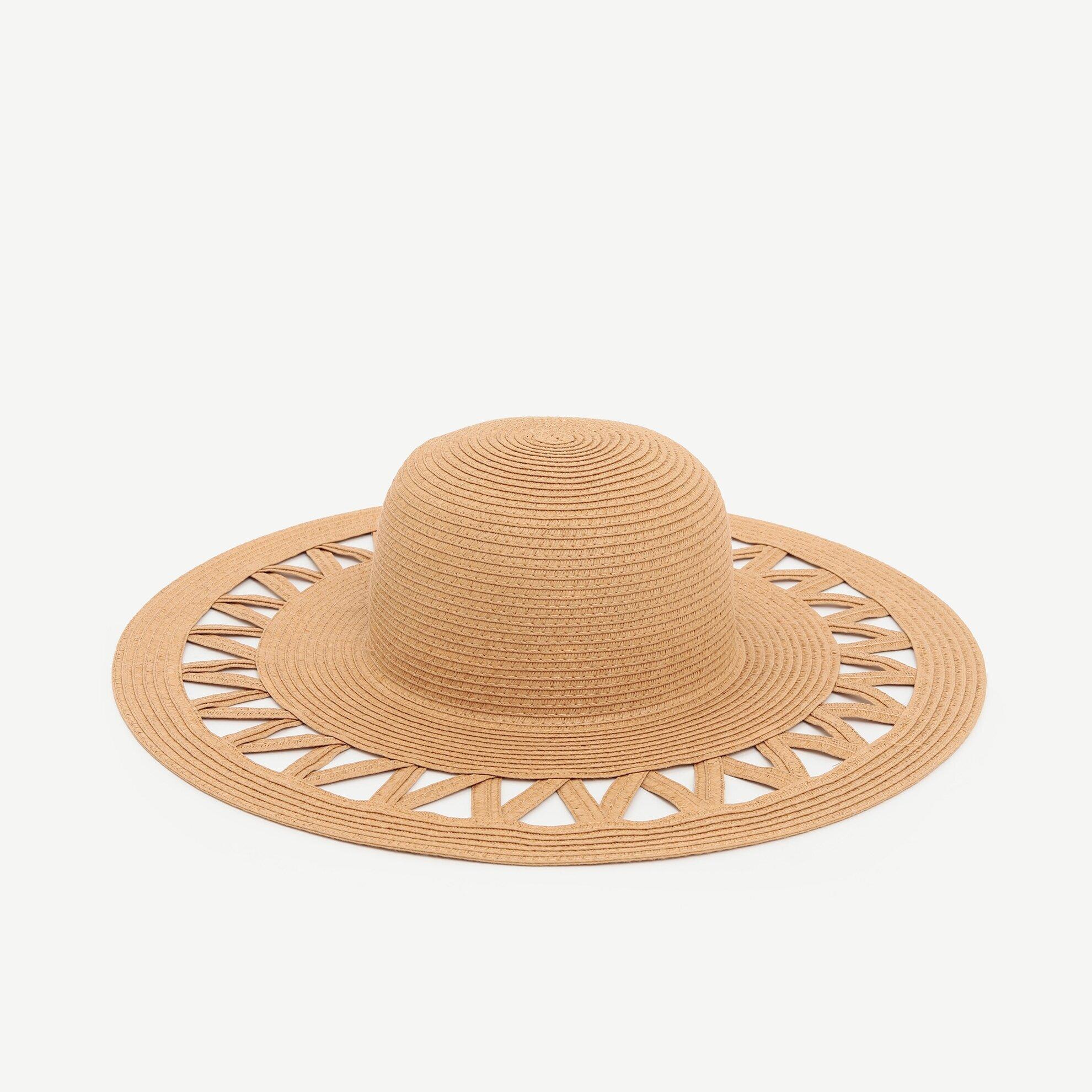 Kenarı Boşluklu Kaplin Şapka