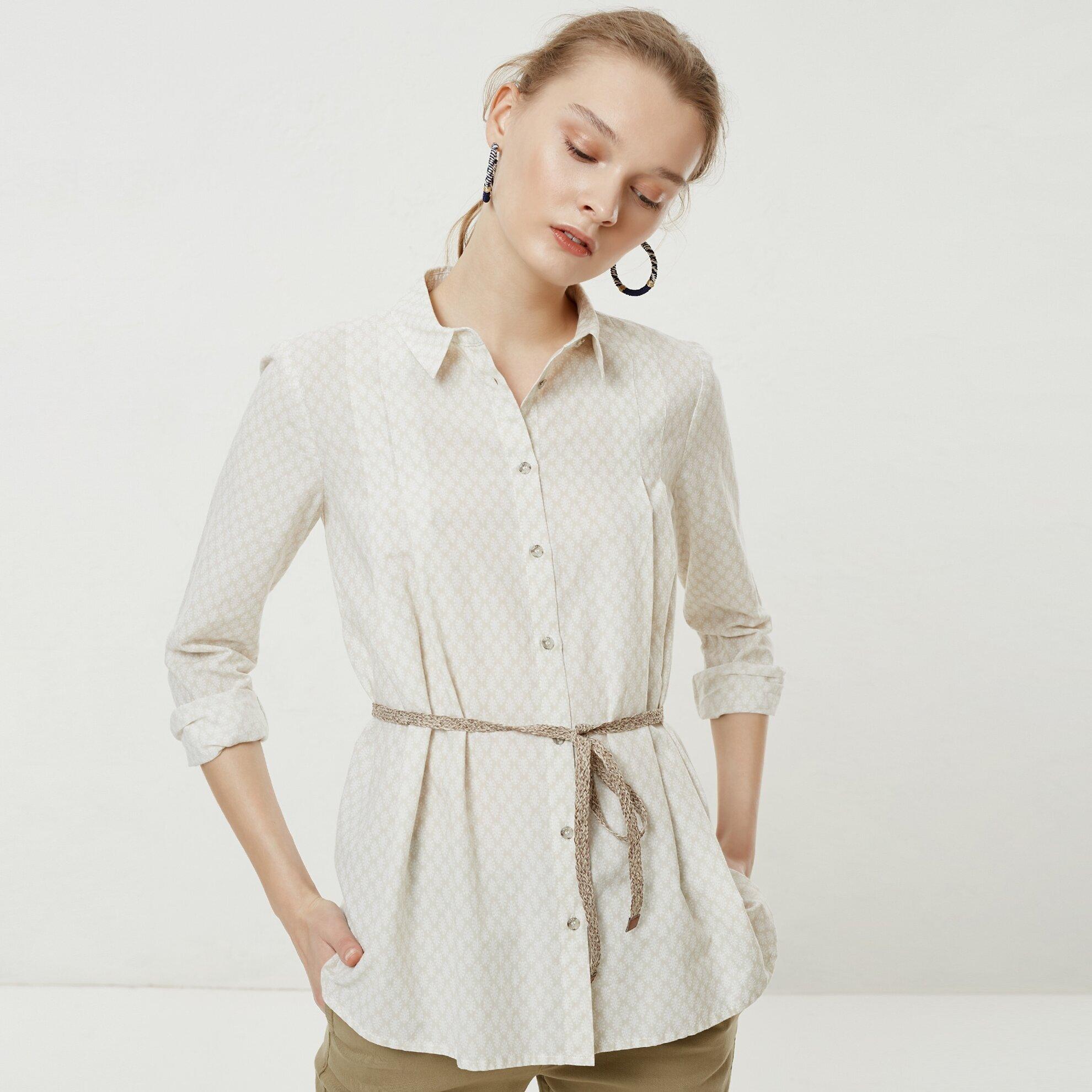 Kemer Detaylı Gömlek