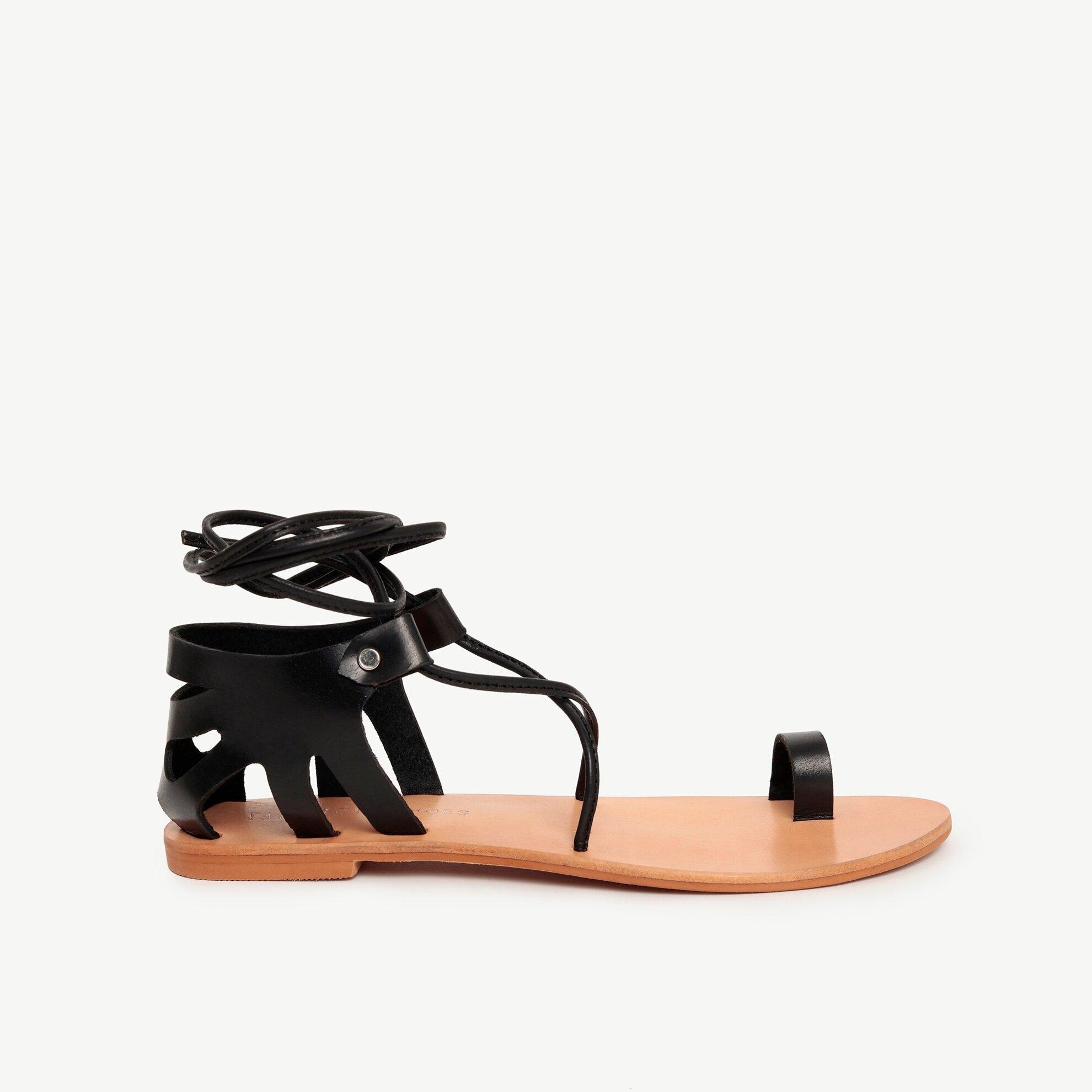 Deri Sandalet