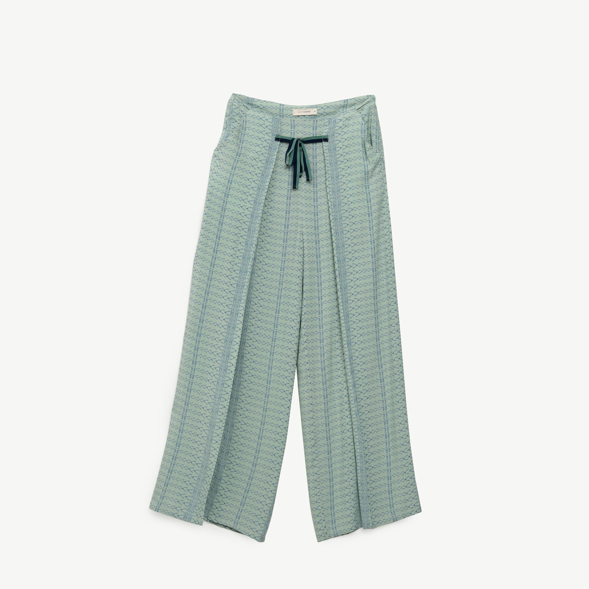 Bağlama Detaylı Pantolon