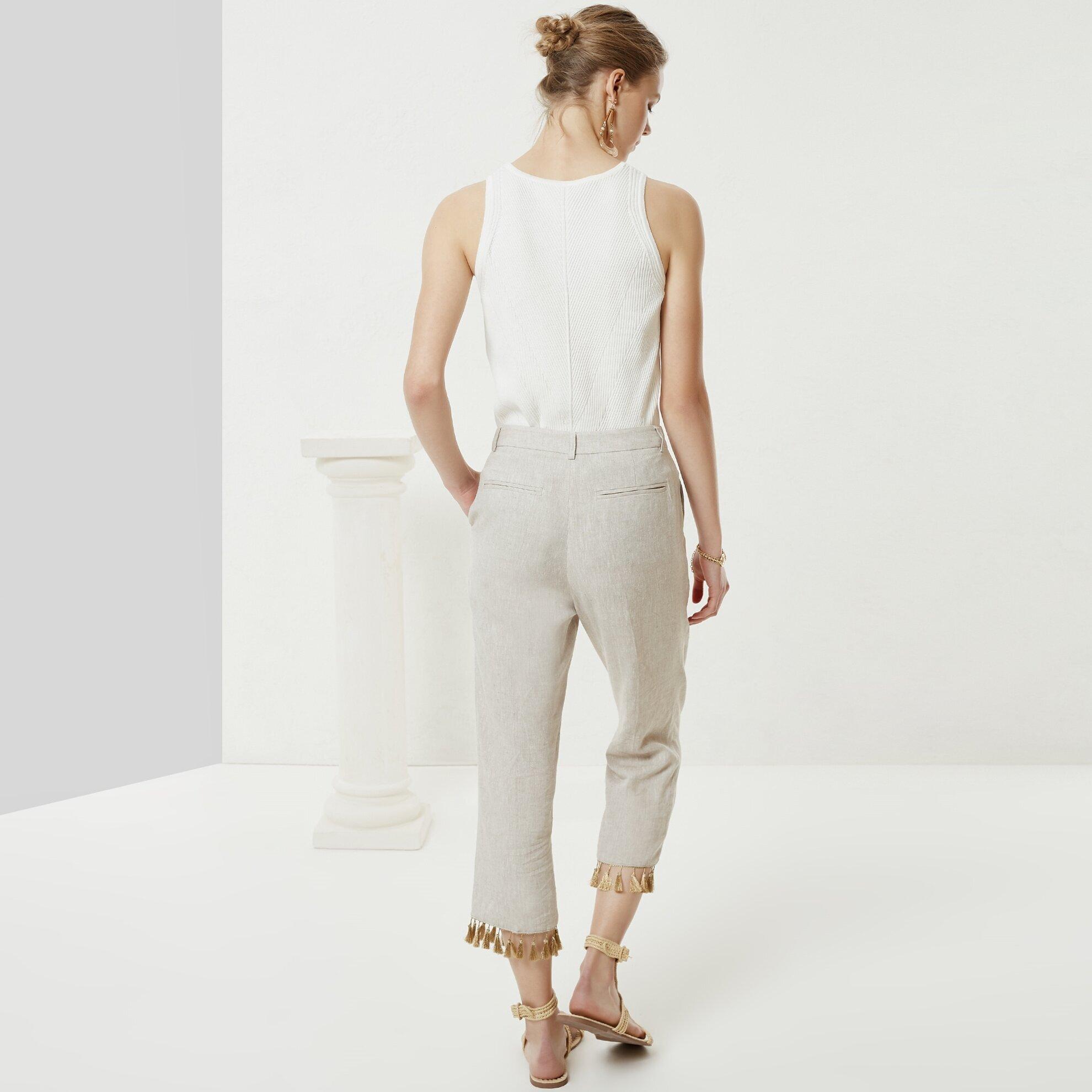 Püskül Detaylı Pantolon