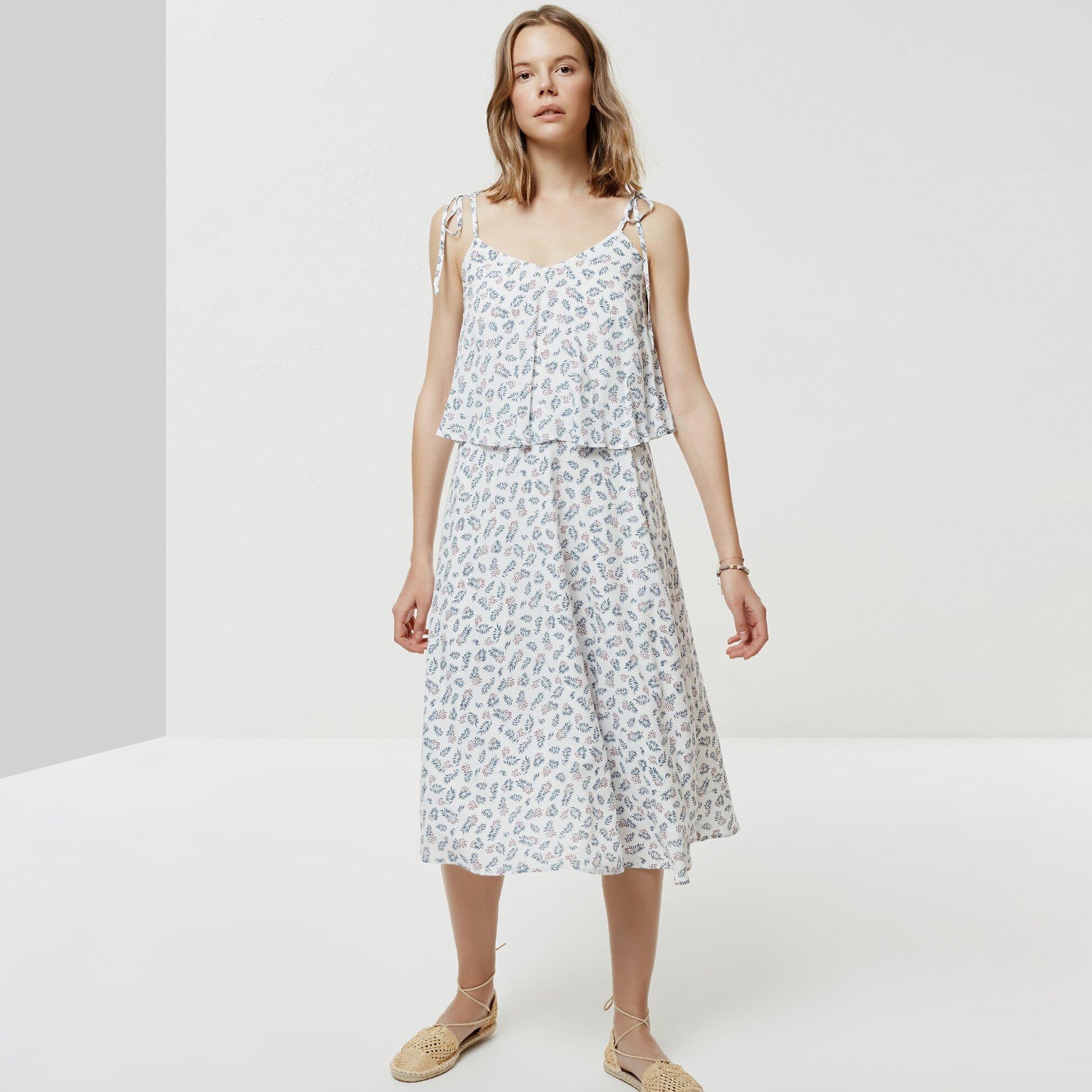 Askı Detaylı Elbise