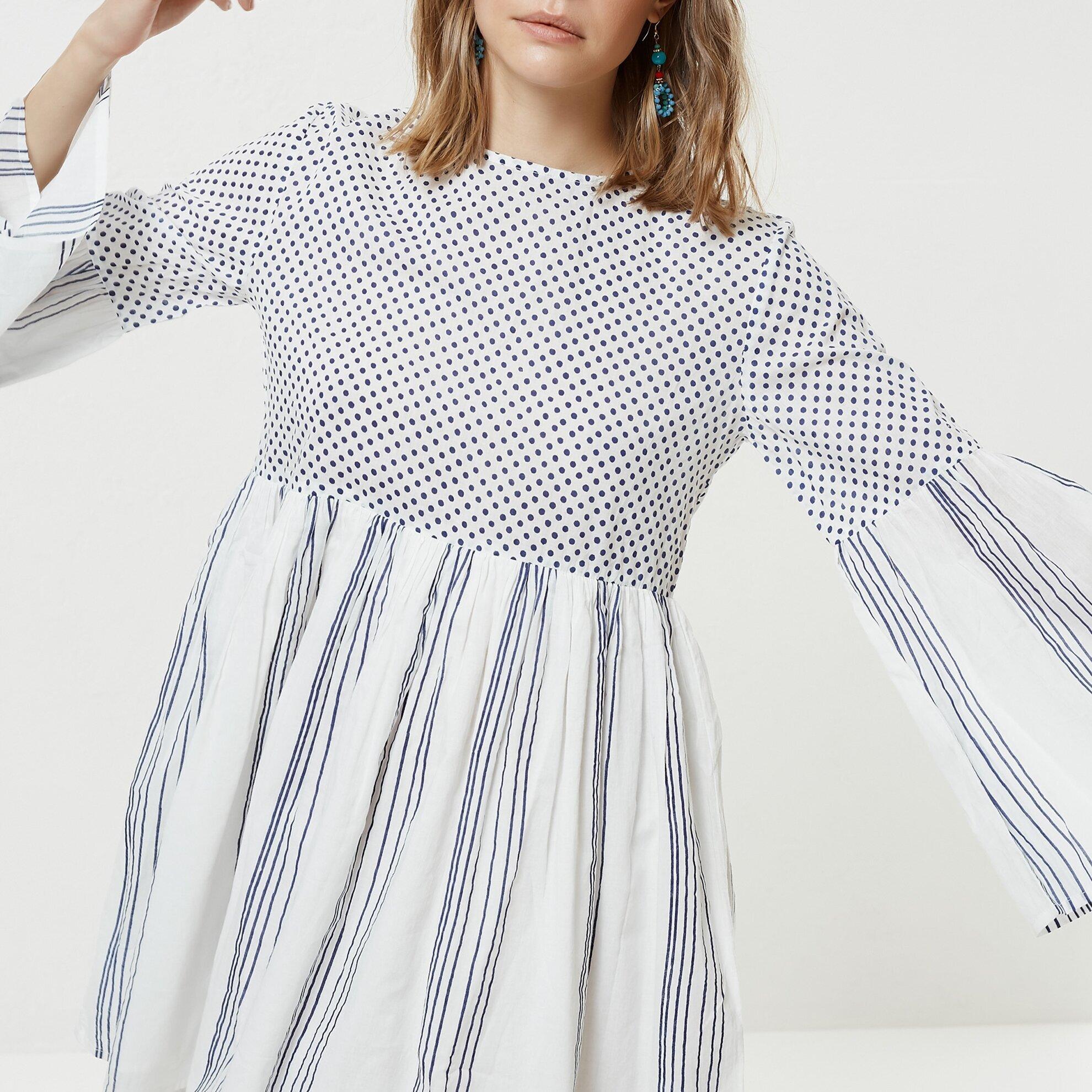 Bağlama Detaylı Elbise
