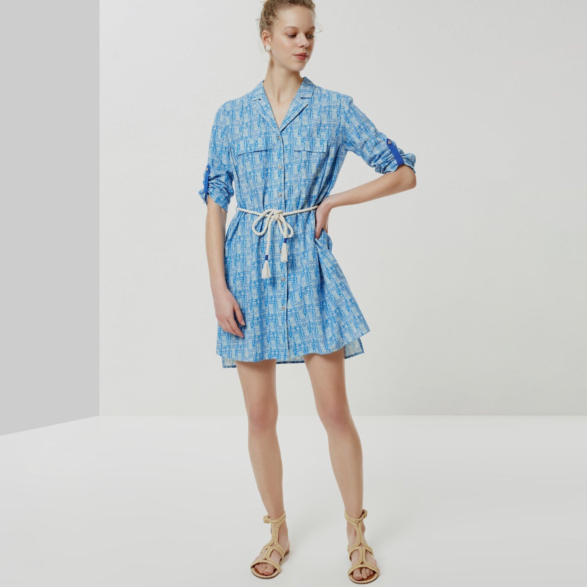 A Form Gömlek Elbise