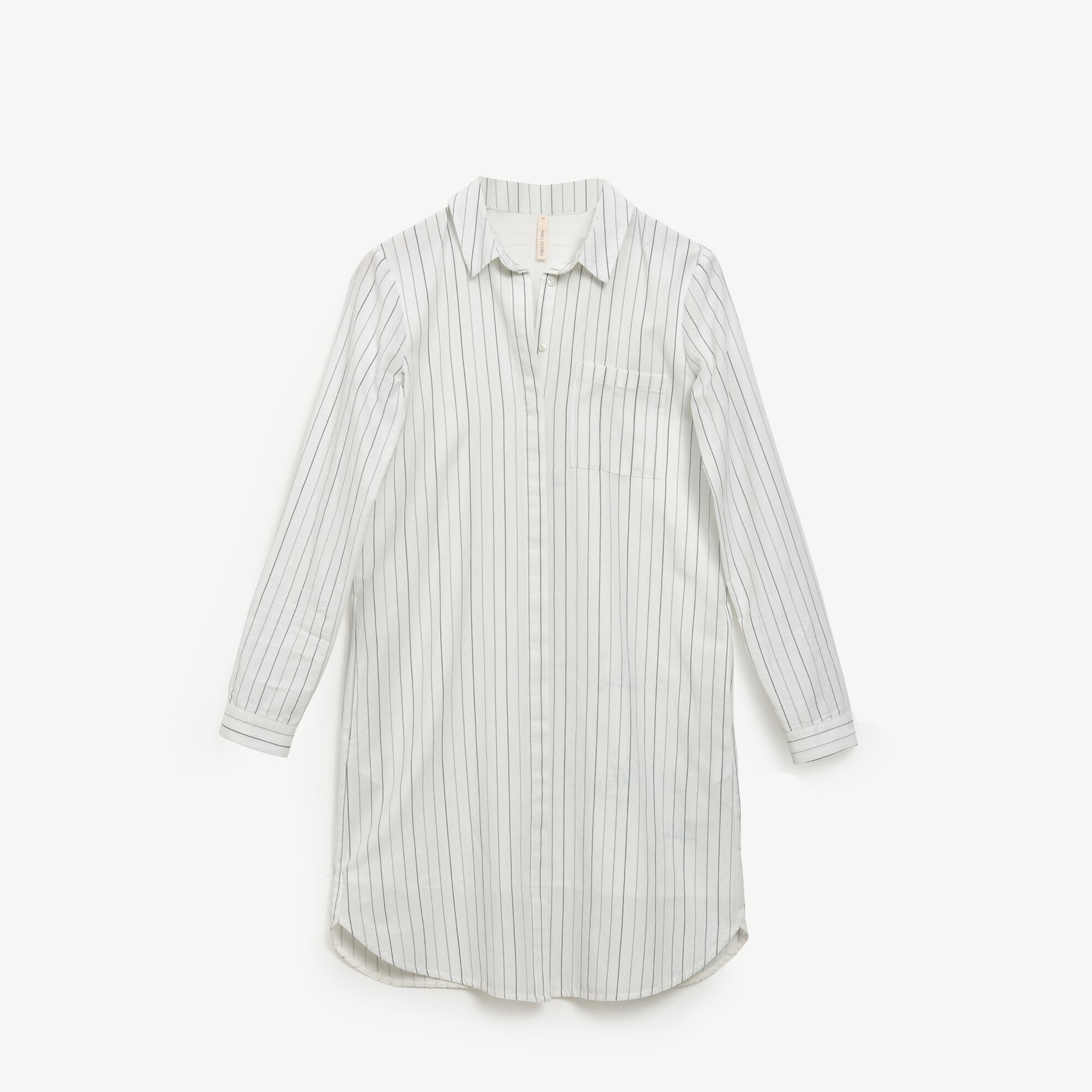 Kemer Detaylı Gömlek Elbise