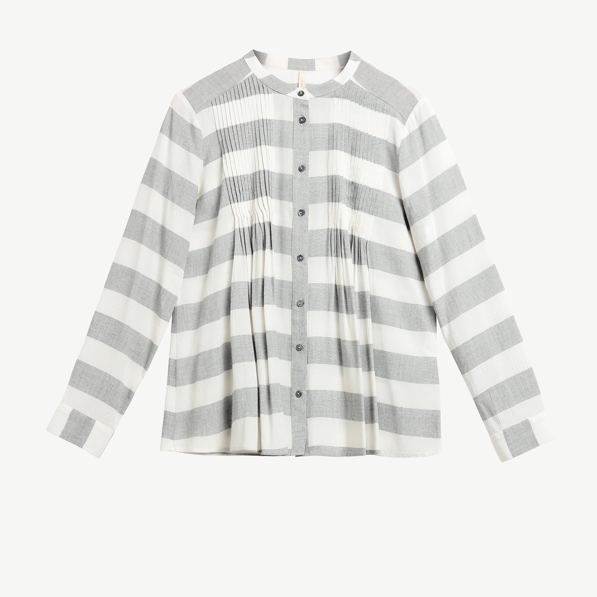 Pleat Detail Shirt
