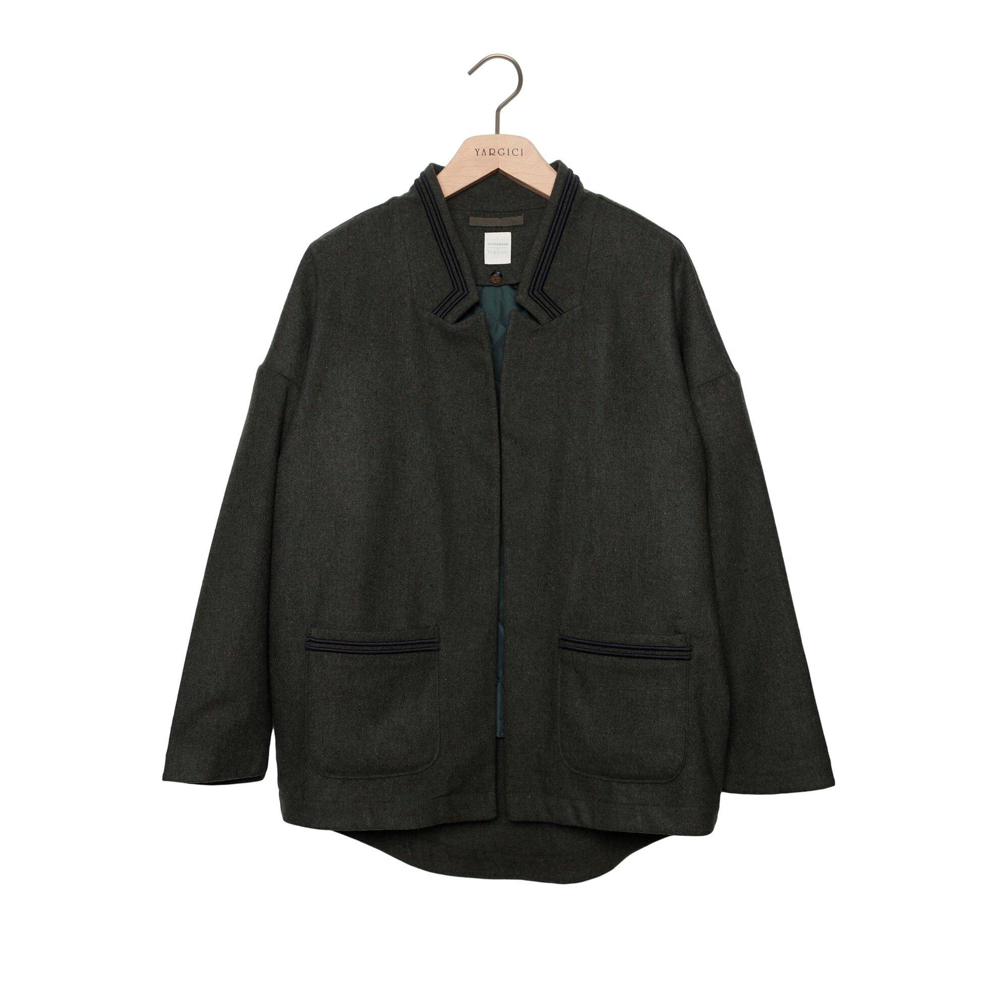 Nakış Detaylı Palto