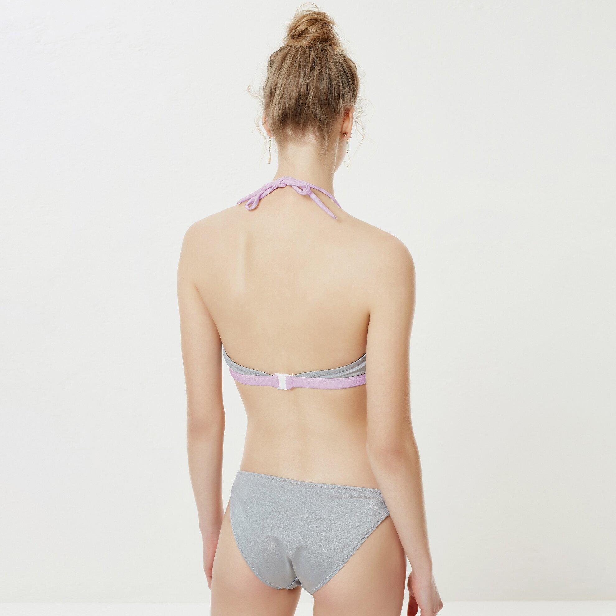 Bant Detaylı Bikini Üstü