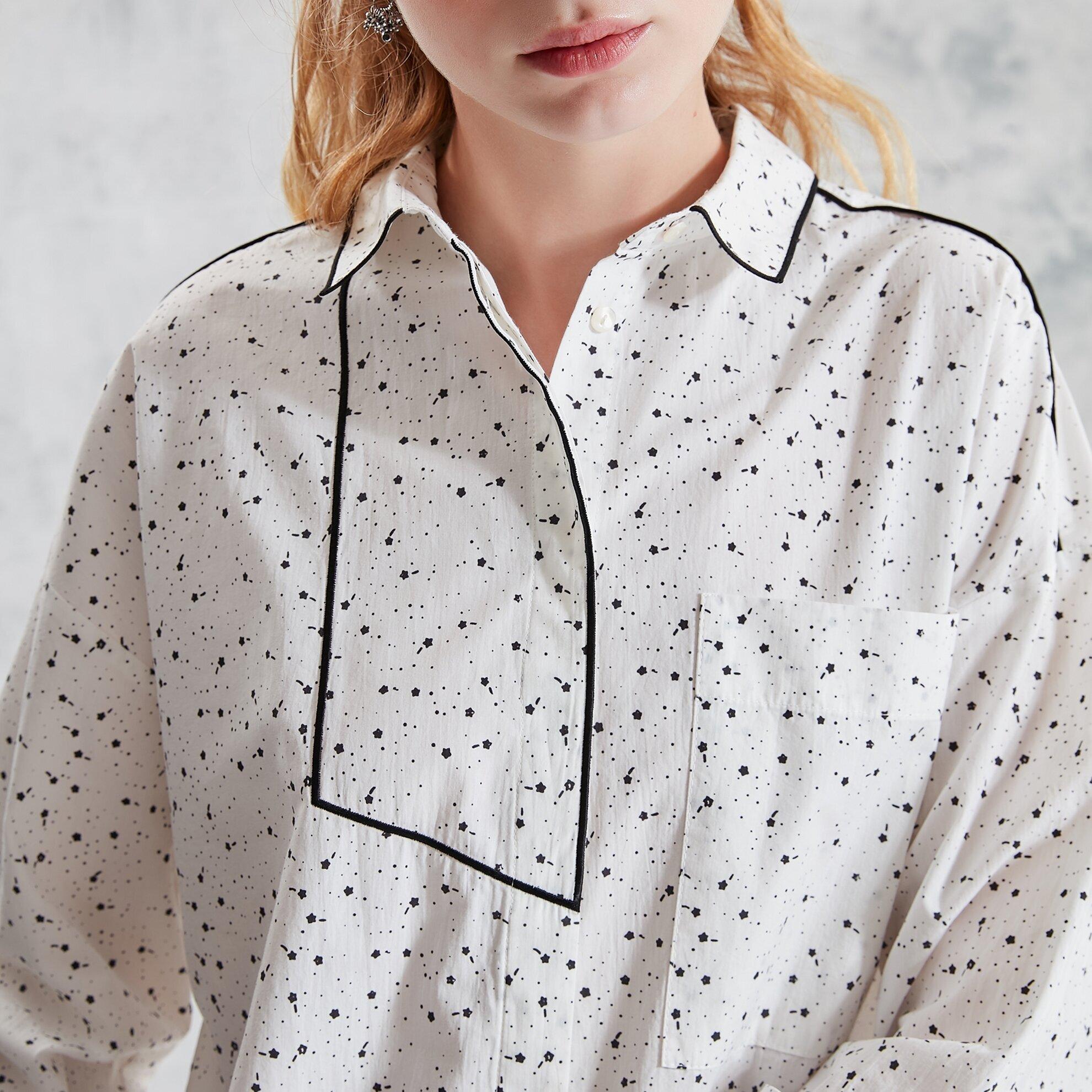 Nakış Detaylı Gömlek