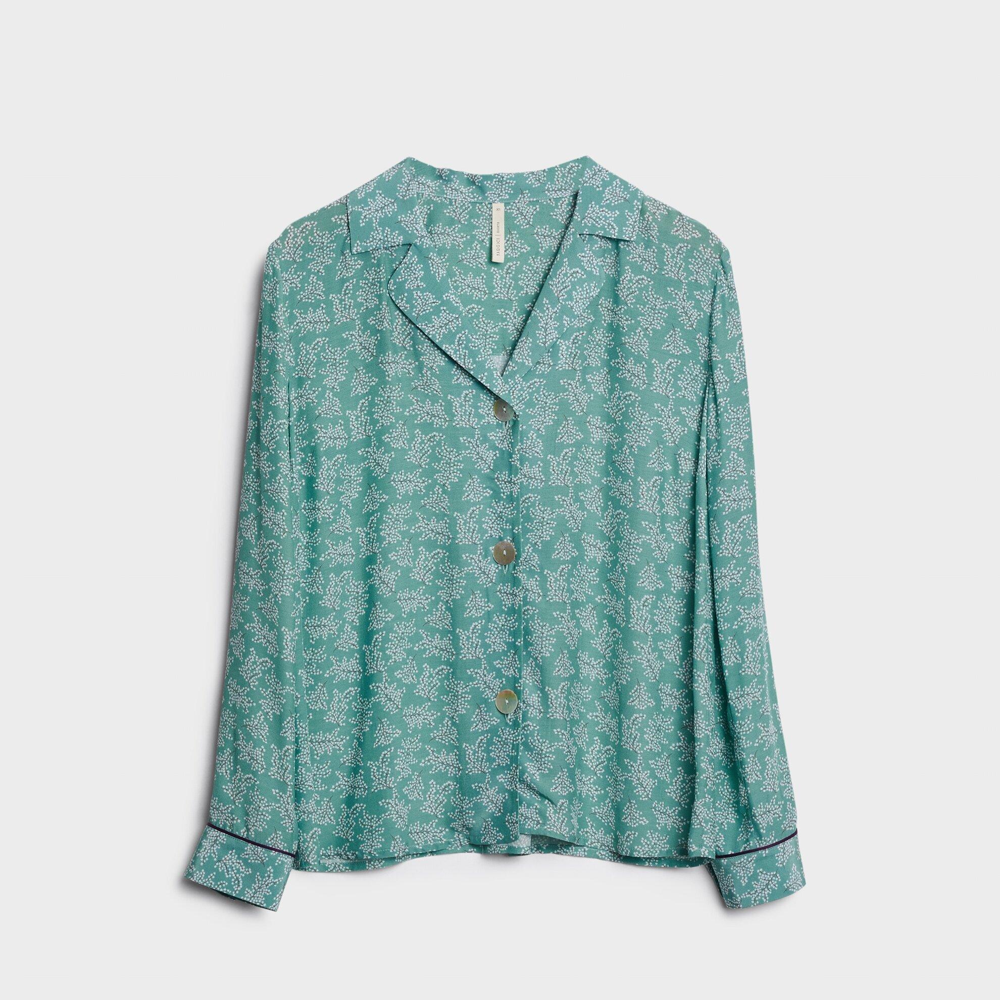 Ceket Yaka Gömlek