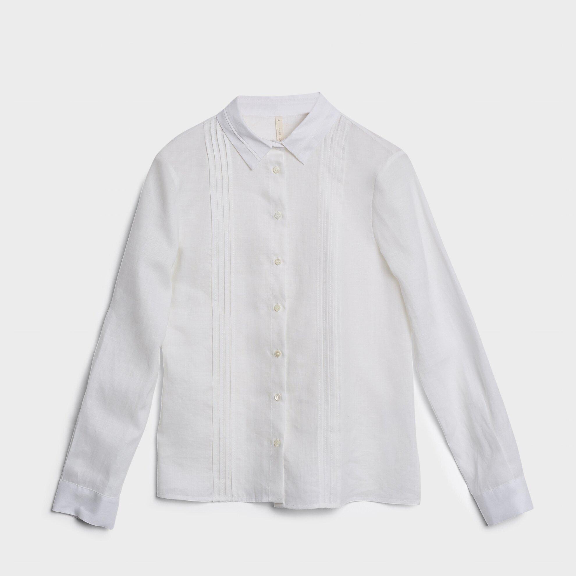 Yaka Detaylı Gömlek