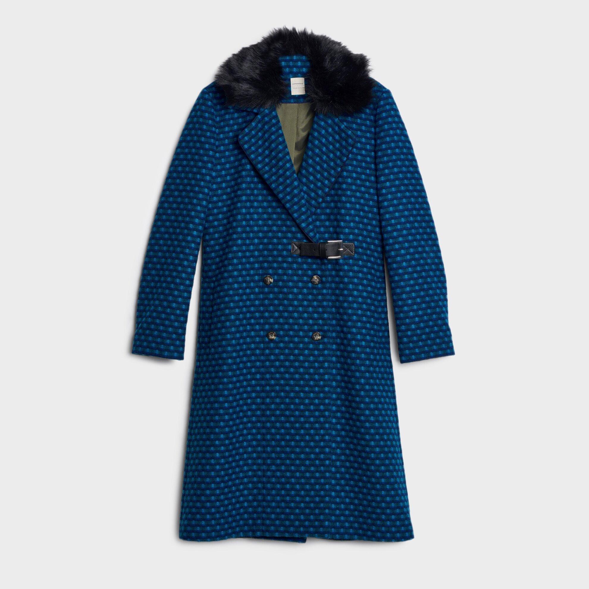 Kürk Detaylı Palto