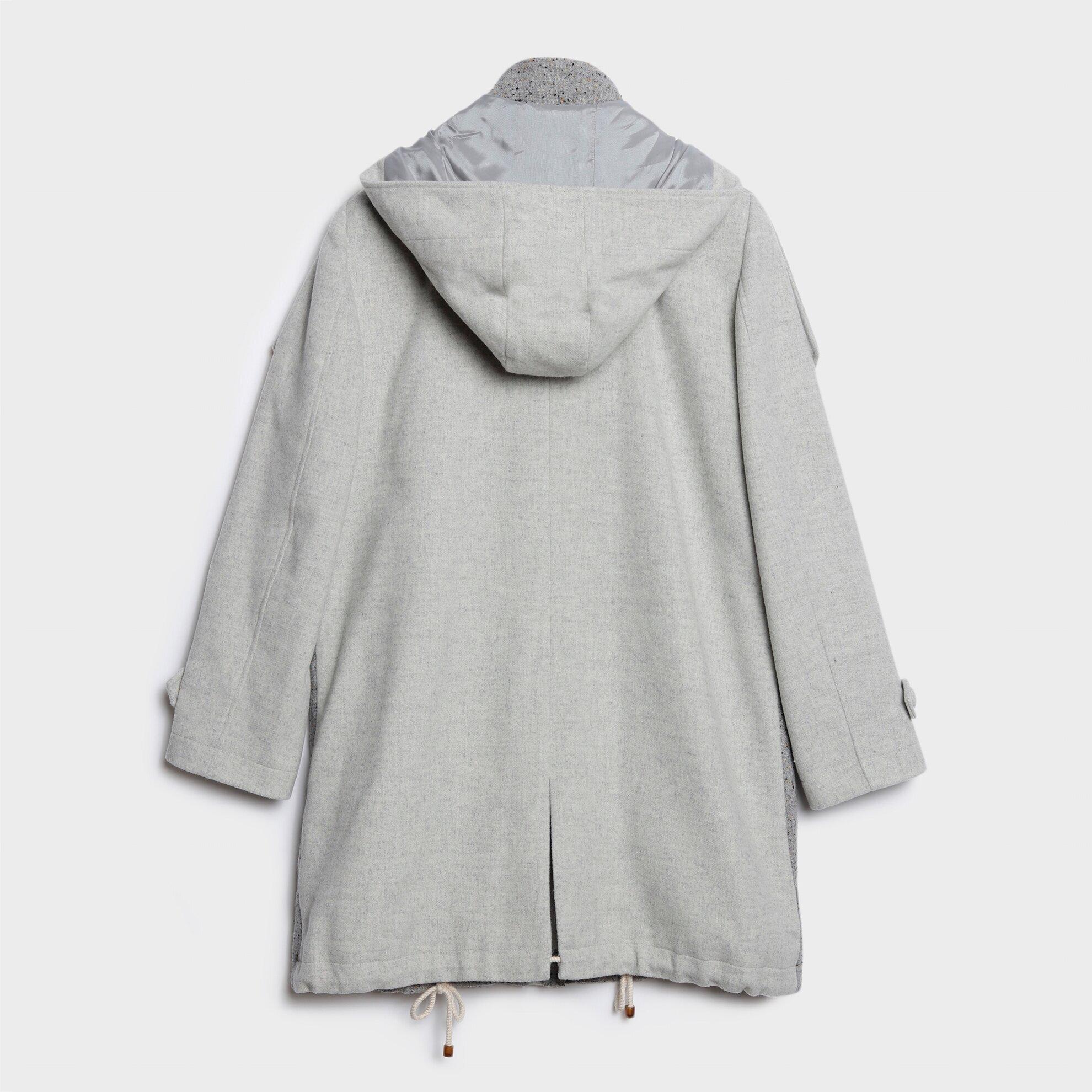 Apolet Detaylı Palto