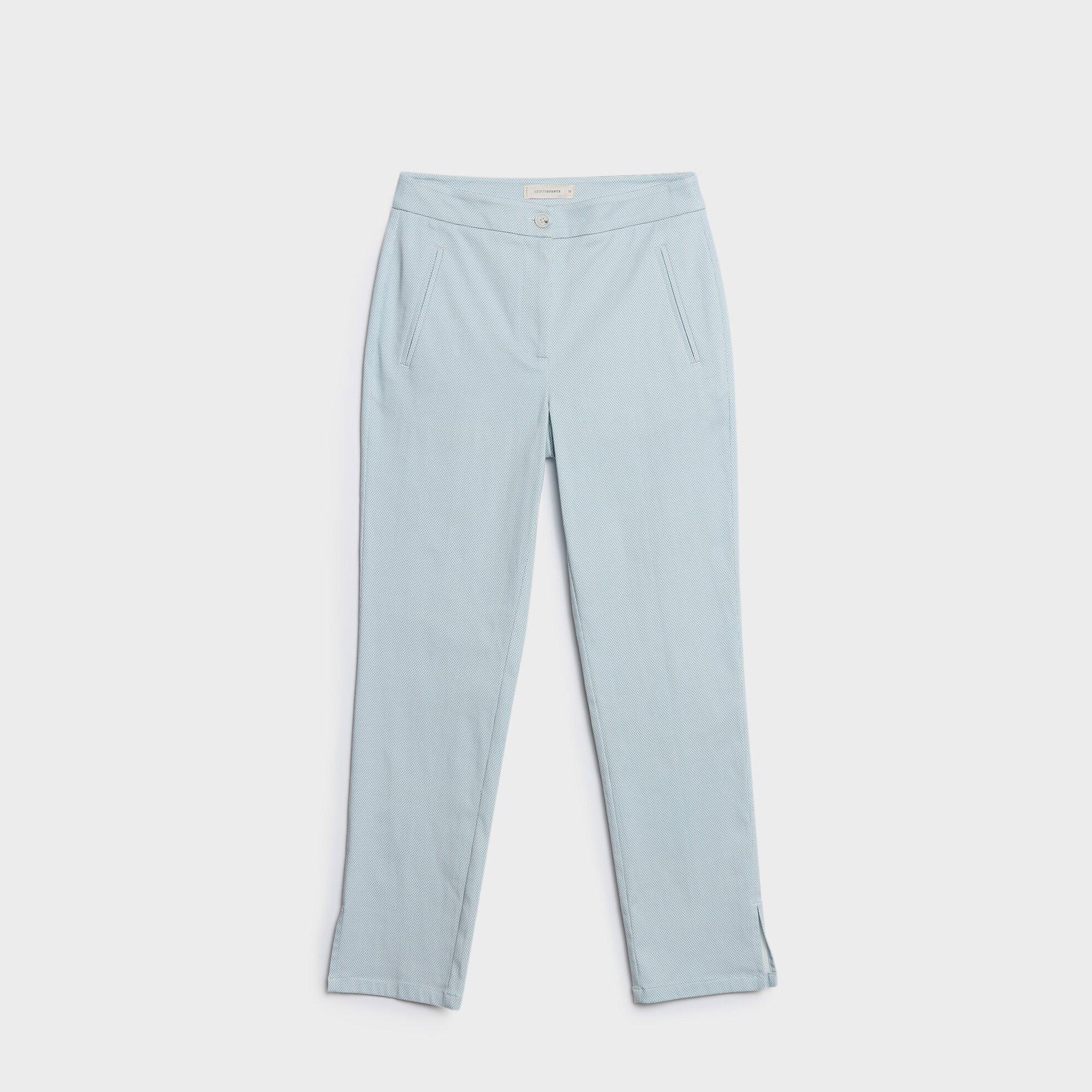 Nervür Detaylı Pantolon