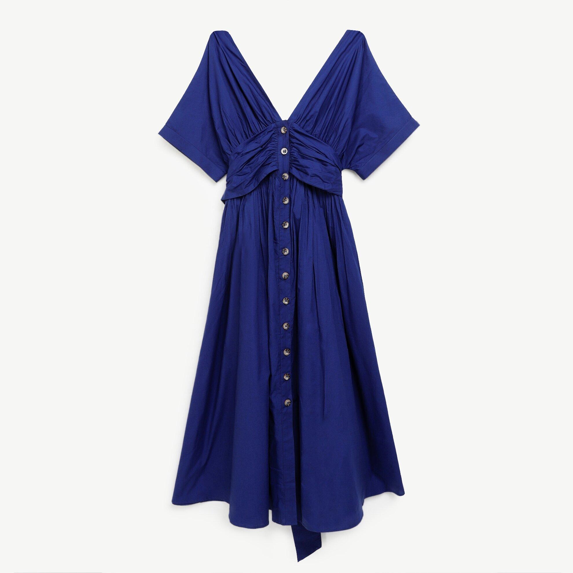 Düğmeli Elbise