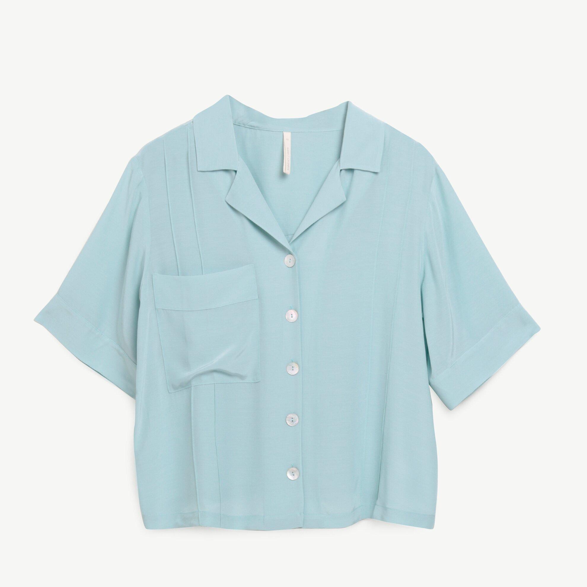 Cep Detaylı Kısa Kollu Gömlek