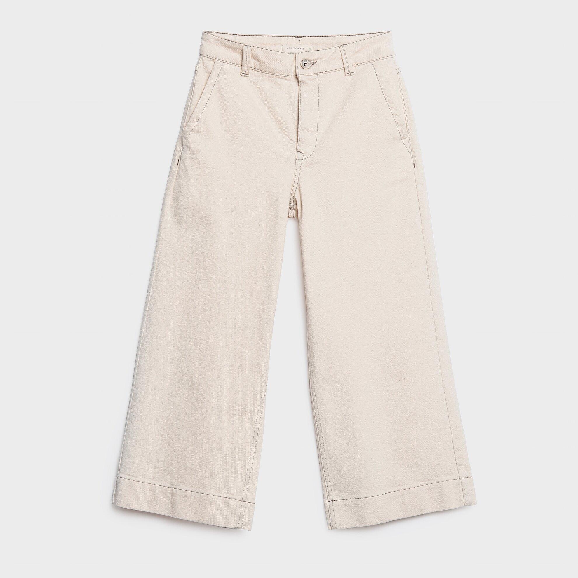 Paçası Katlamalı Pantolon
