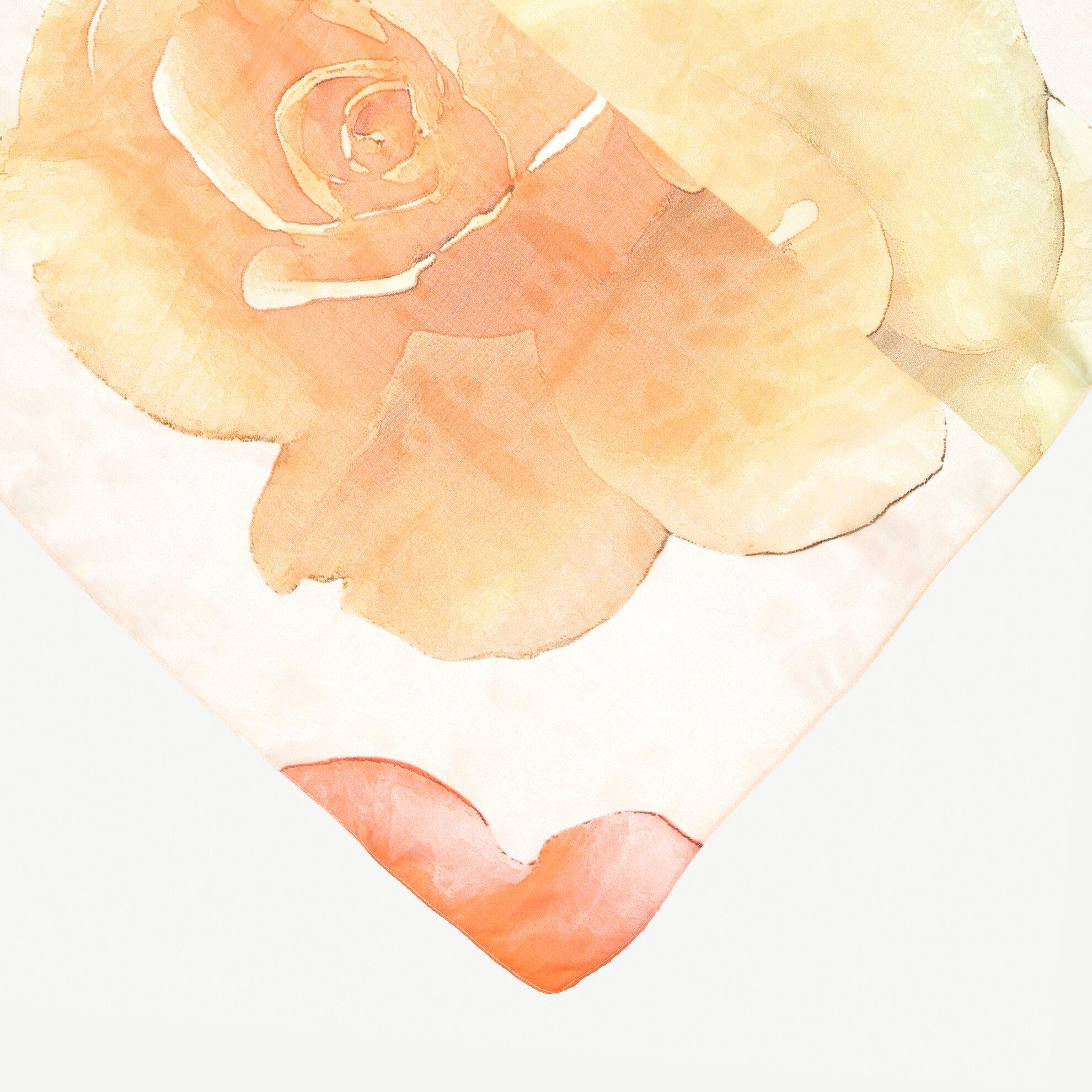 Çiçek Desenli Şal