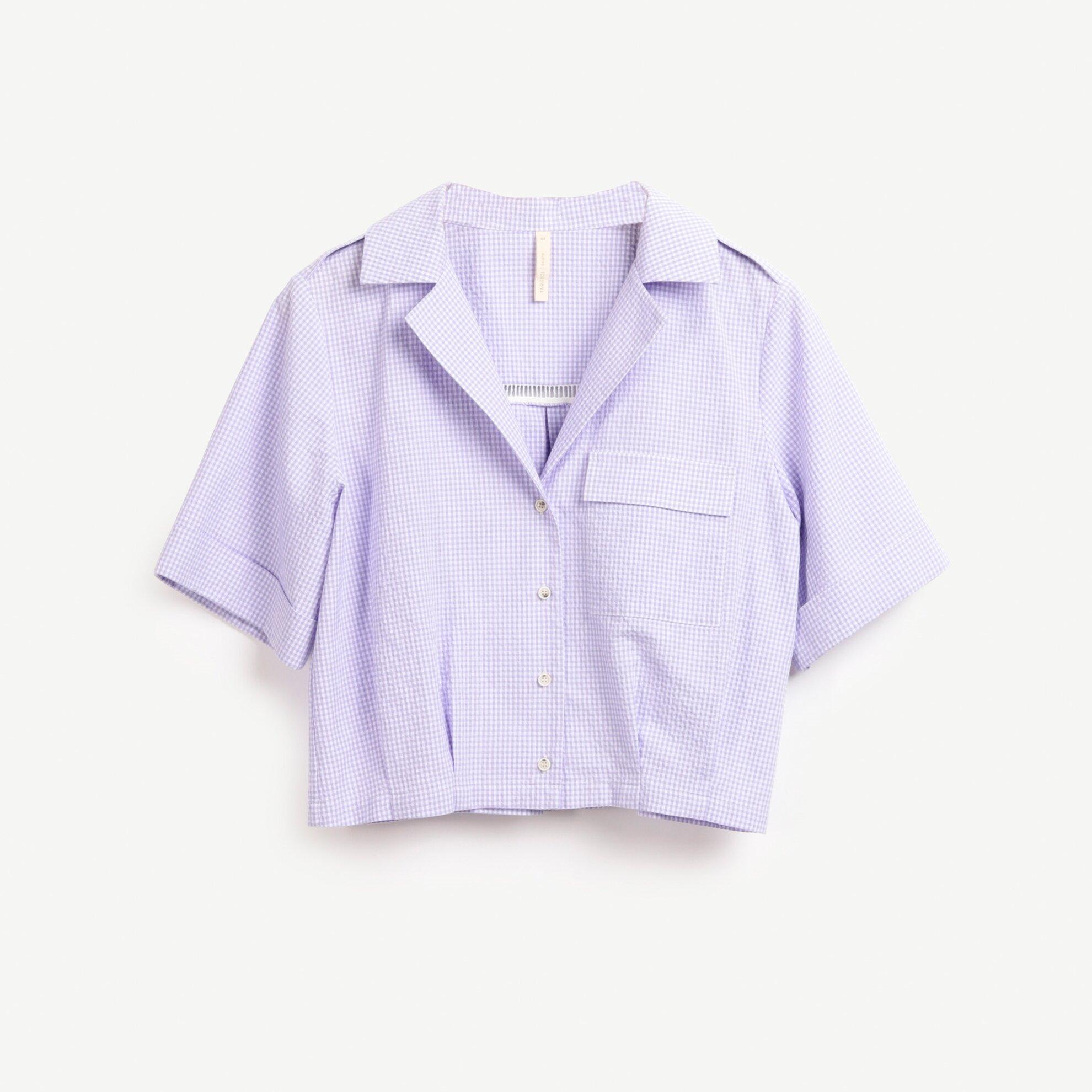 Apolet Detaylı Kısa Kollu Gömlek