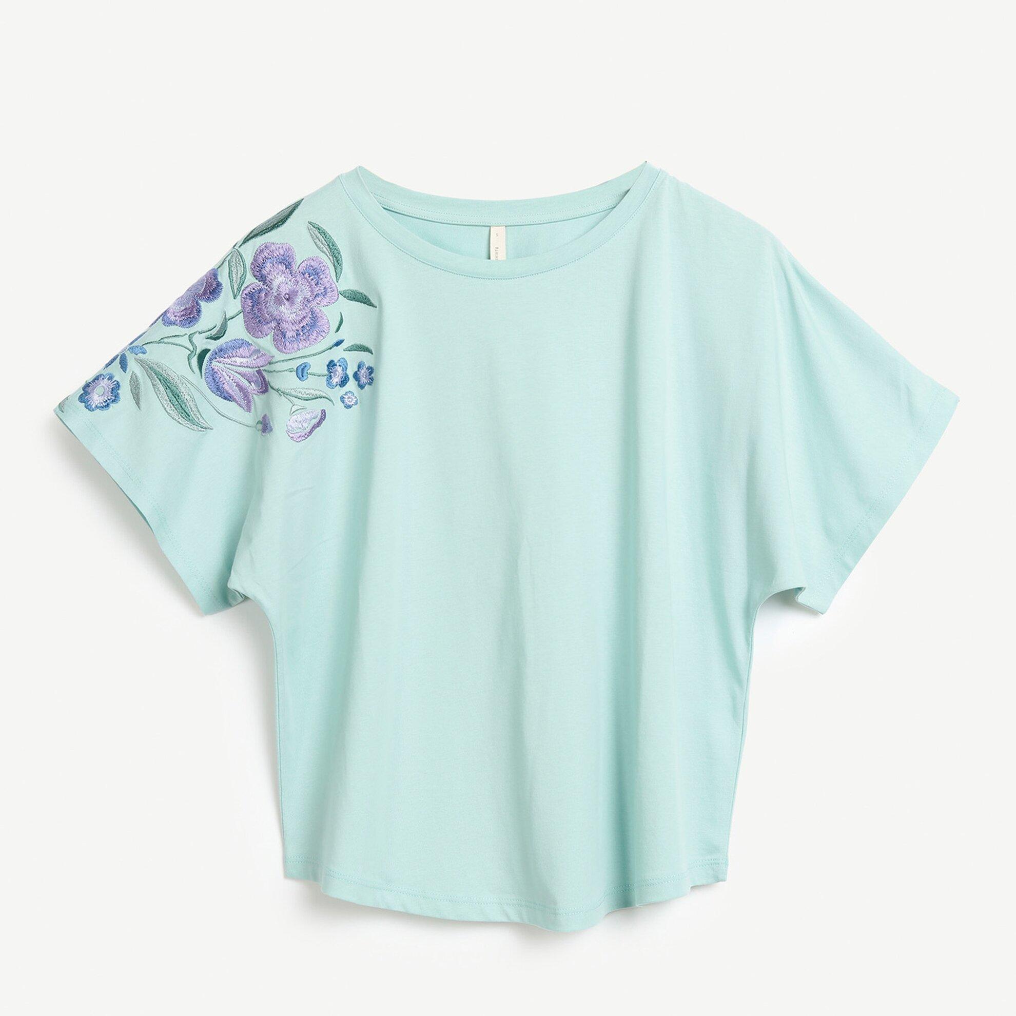 Nakış Detaylı T-Shirt