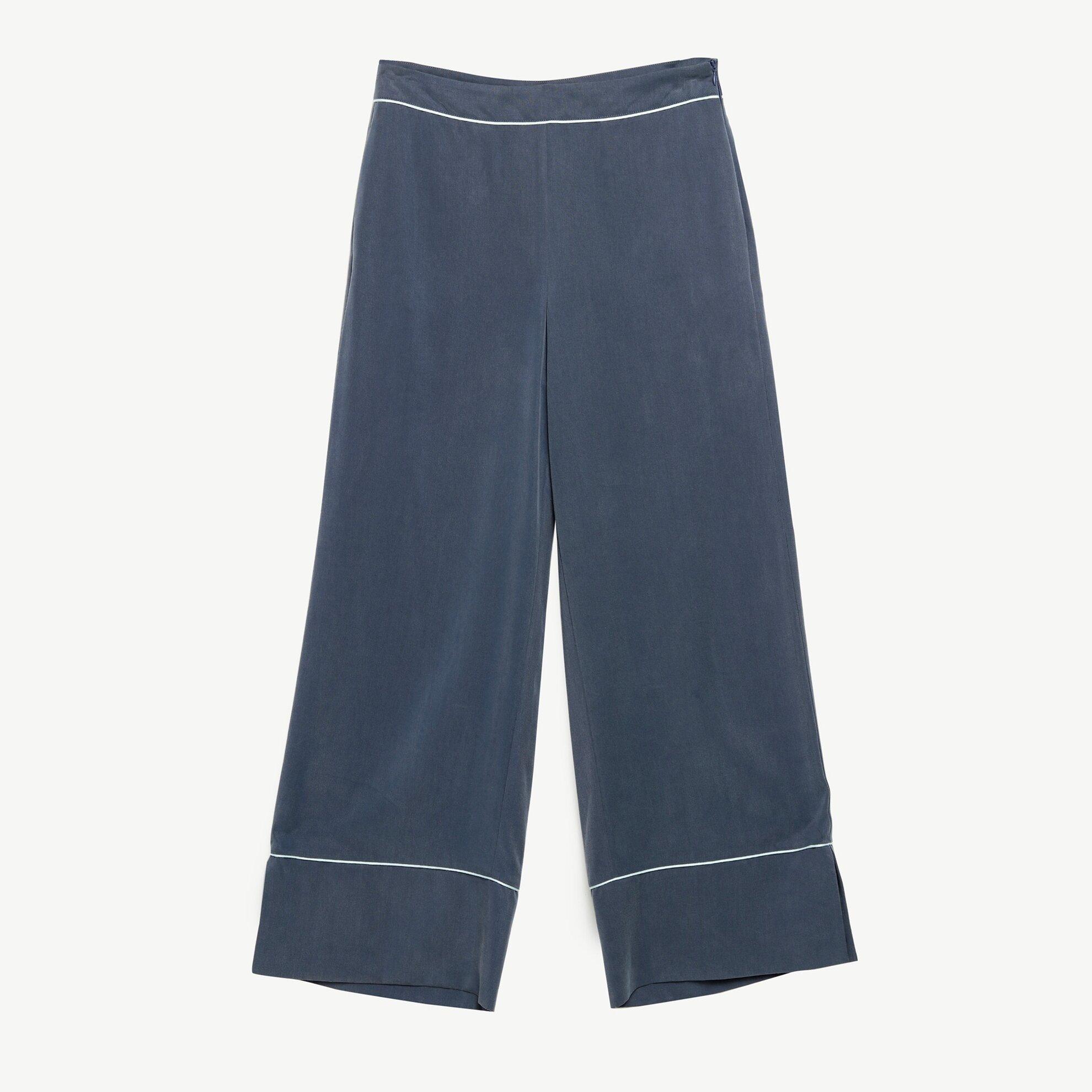 Biye Detalı Pantolon