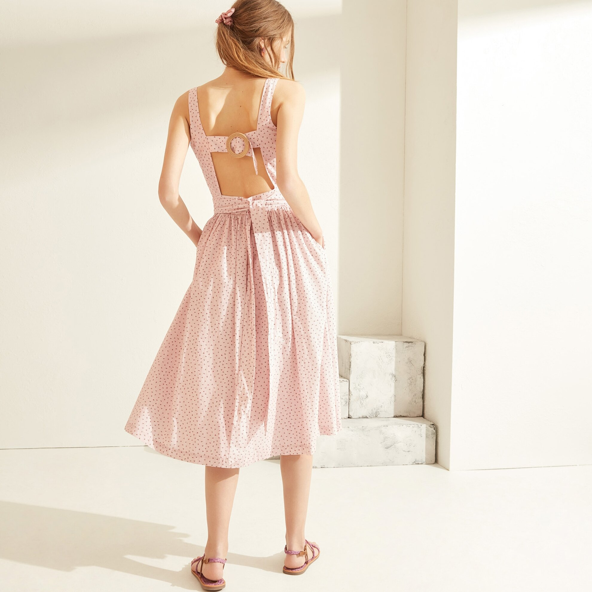 Sırt Detaylı Elbise
