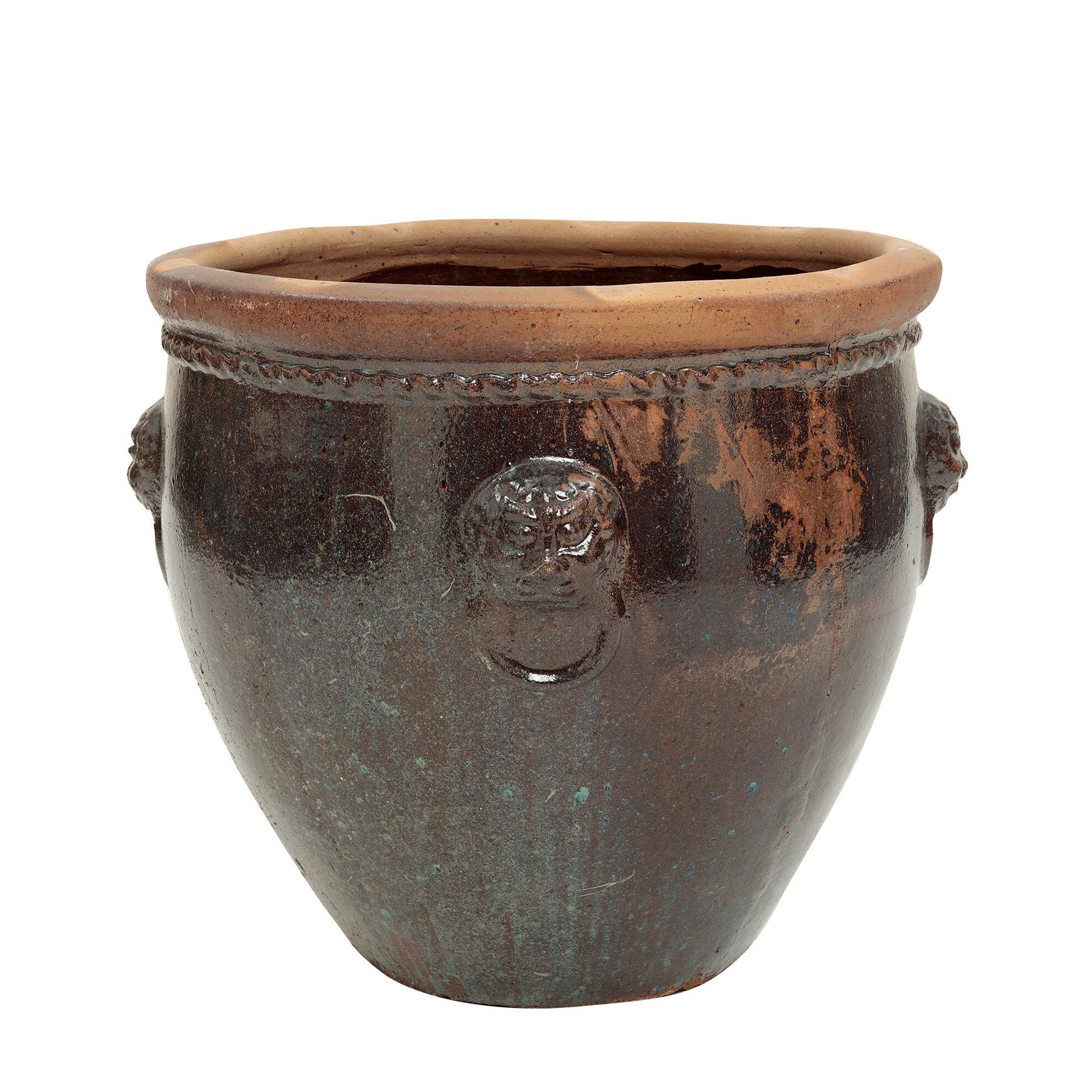 Küp (74x70cm) - Koyu Kahve