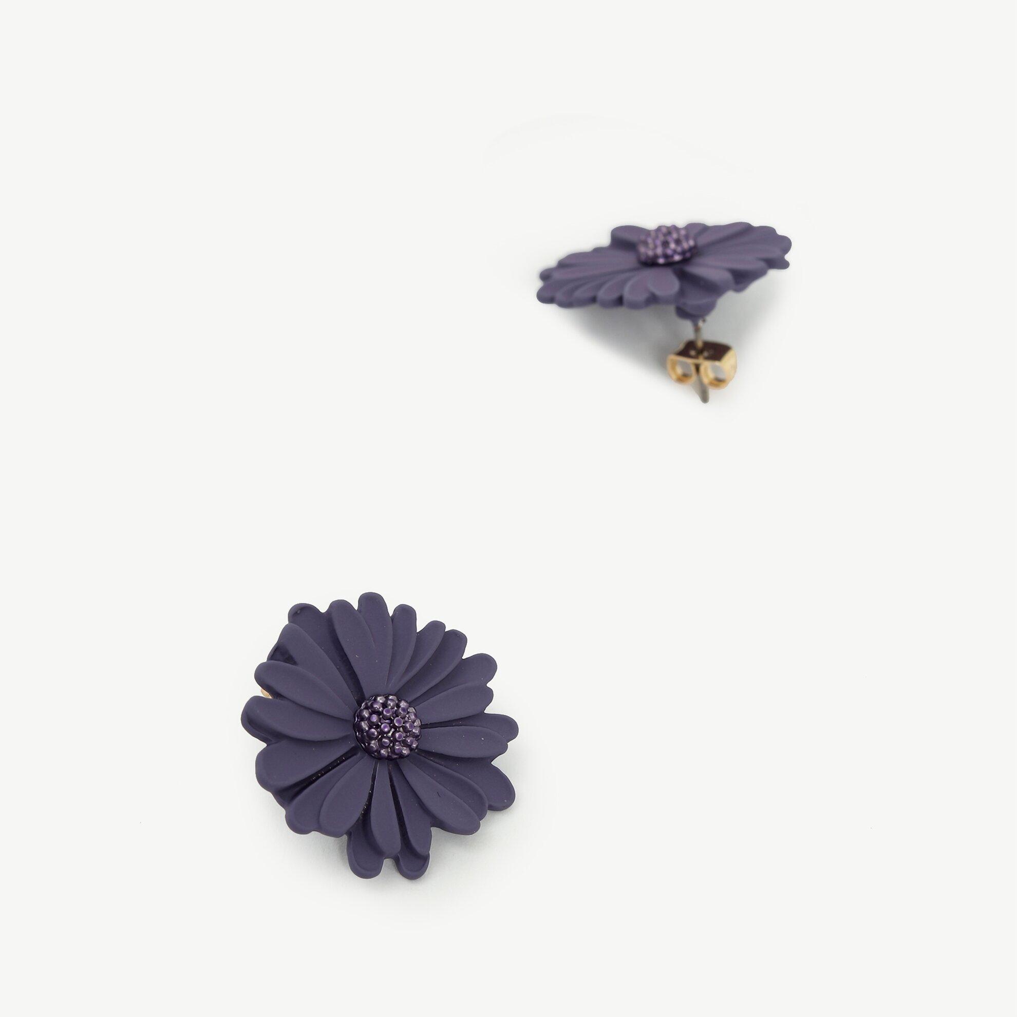 Çiçek Formlu Küpe