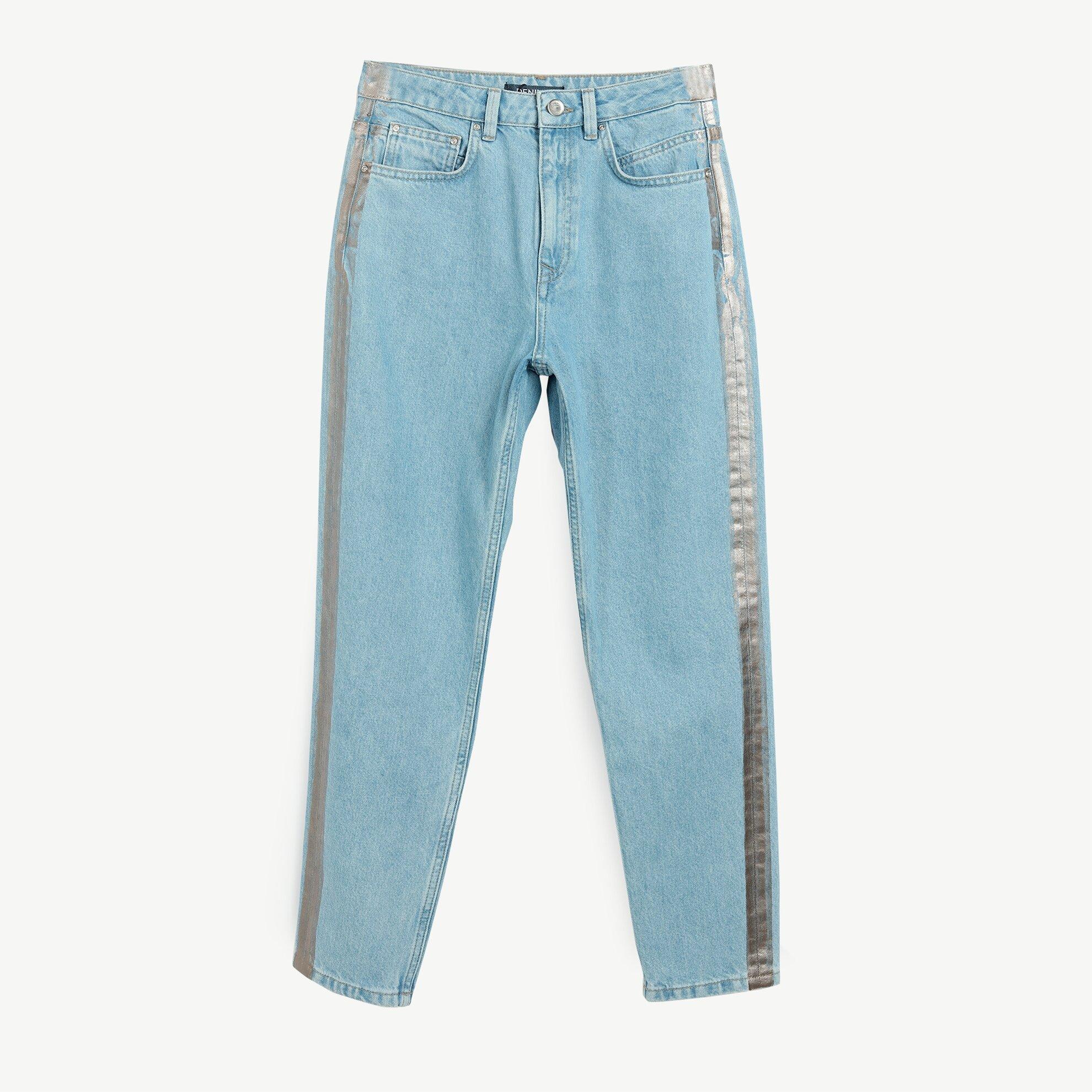 Mom Fit Denim Pantolon