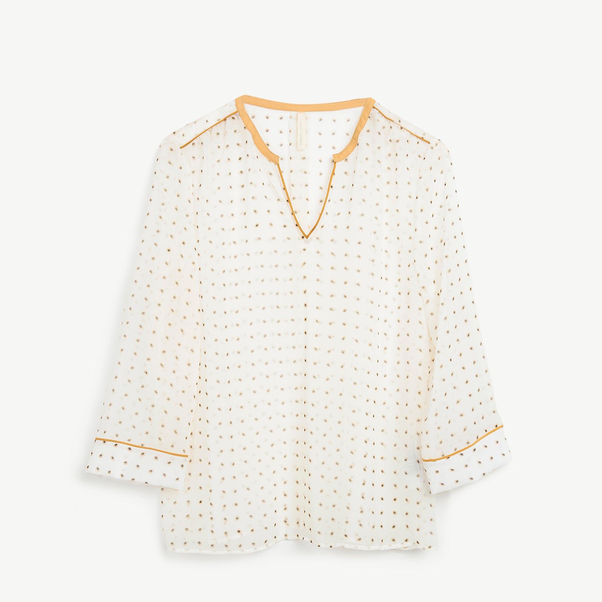 Biye Detaylı Bluz