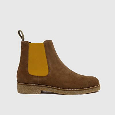Picture of Suede Chelsea  Boot