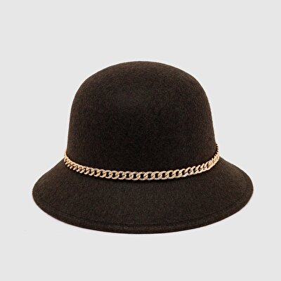 Resim Zincir Detaylı Şapka