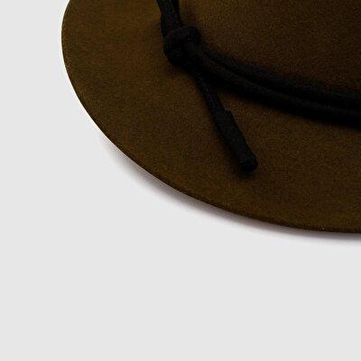 Resim Kemerli Fötr Şapka