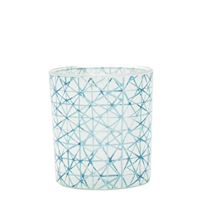 Glass Candle Holder ( 7,8 X 7 X 6,5 Cm )