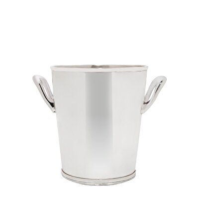 SilveR-Plated ice Bucket (  14 X 13 Cm  )