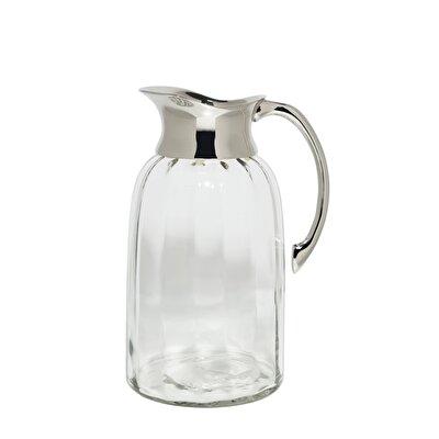 Glass Jug (  22 X 13 Cm  )