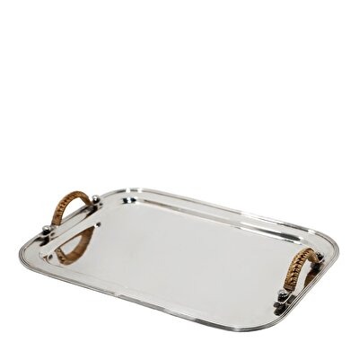 Silver Plated Tray ( 42 X 32 Cm )