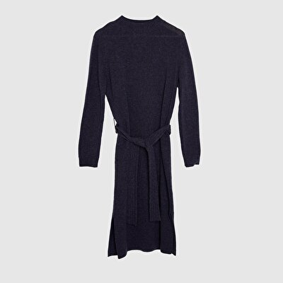 Slit Detailed Tricot Dress