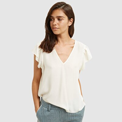 Picture of Frilled Sleeve Blouse