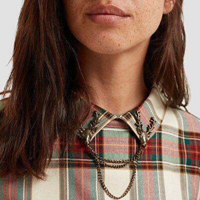 Resim Sırtı Düğmeli Gömlek