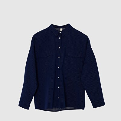 Picture of Collar Detailed Shirt
