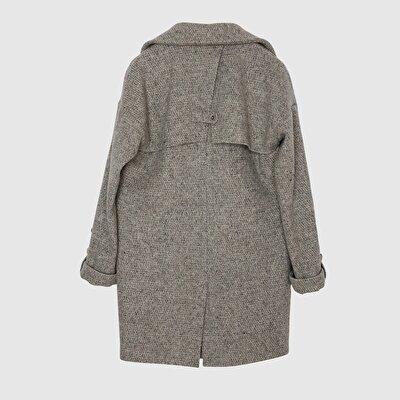 Resim Biye Detaylı Palto