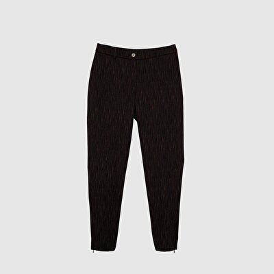 Picture of Zipper Detailed Trousers