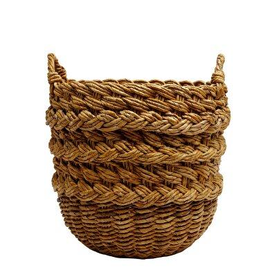 Straw Basket ( 40 X 45 X 52 Cm )
