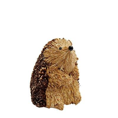 Decorative Hedgehog Figure ( 11 X 11 X 13 Cm )
