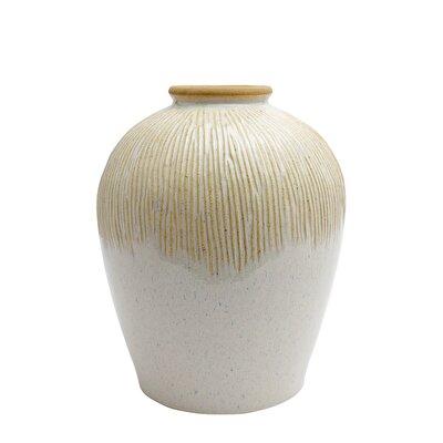 Resim Dekoratif Seramik Vazo ( 32 X 38 Cm )