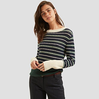 Picture of Striped Long Sleeved Sweater