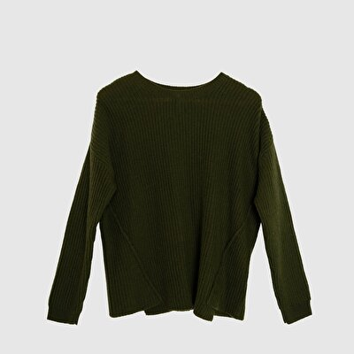 Layered Front Long Sleeved Tricot