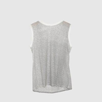 Picture of Sleeveless Round Neck T-Shirt