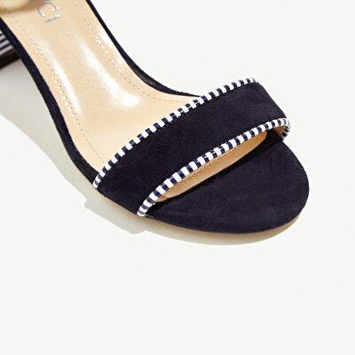 Resim Küçük Kalın Topuklu Sandalet